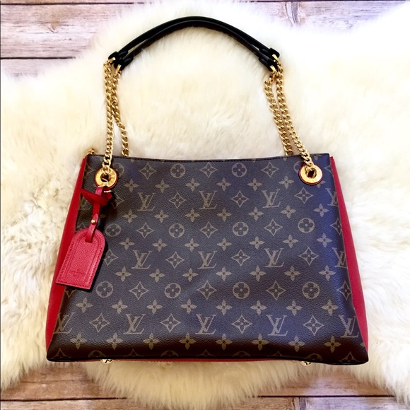 af7101ea70 Louis Vuitton Surene MM Monogram/Cherry Bag NWT